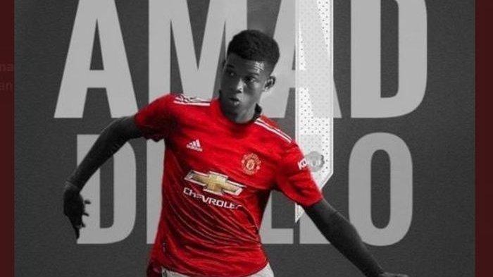 Man United Datangkan Amad Diallo, Winger Pantai Gading Idaman Ole Gunnar Solskjaer
