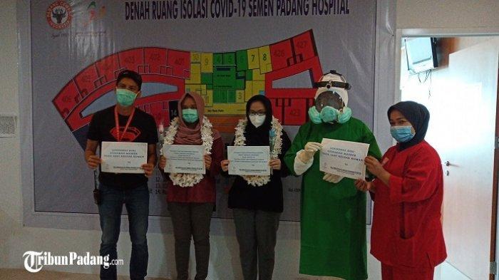 Dua Bulan Lebih Dirawat, Dokter Positif Corona di Padang Akhirnya Sembuh Setelah 13 Kali Tes Swab