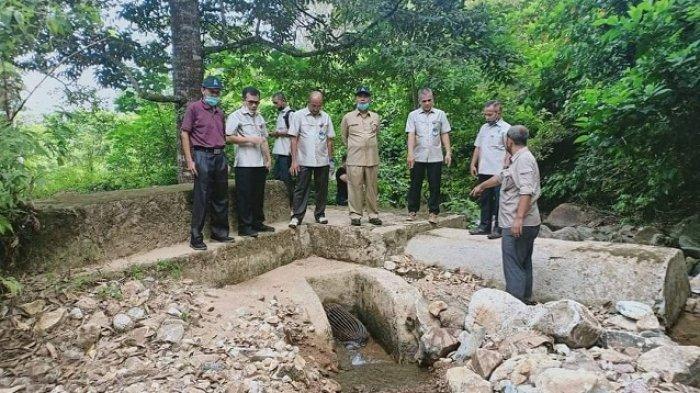 Musim Kemarau di Padang, Intake Pegambiran Kering, PDAM Distribusikan Air Bergiliran