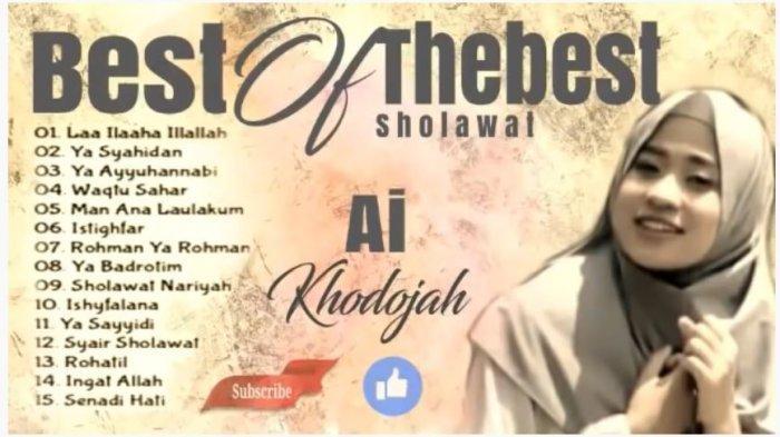 Download MP3 Lagu ReligiAi KhodijahEl Mighwar Gambus,Innal Habibal Musthofa hinggaMauju Qolbi