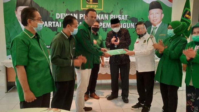Maju Pilkada Sijunjung, Benny Dwifa Yuswir Arifin Gandeng Iradatillah, Sudah Terima SK dari PPP