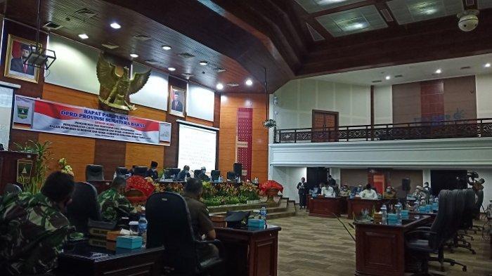 DPRD Sumbar Gelar Paripurna Usulan Pengesahan Pengangkatan Gubernur dan Wagub Sumbar