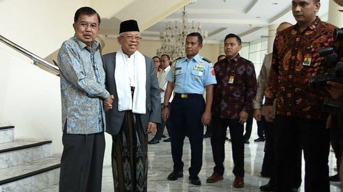 Di Padang, Wapres Ma'ruf Amin Gantikan Jabatan Jusuf Kalla sebagai Dewan Penasihat ICMI