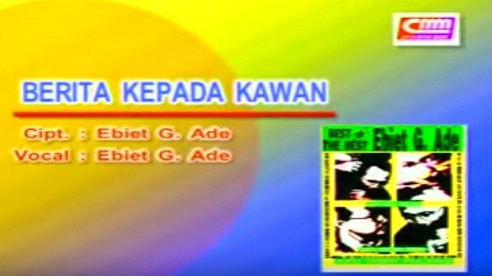 Chord Gitar Lagu Berita Kepada Kawan - Ebiet G. Ade, Termasuk Dalam Album Camelia II