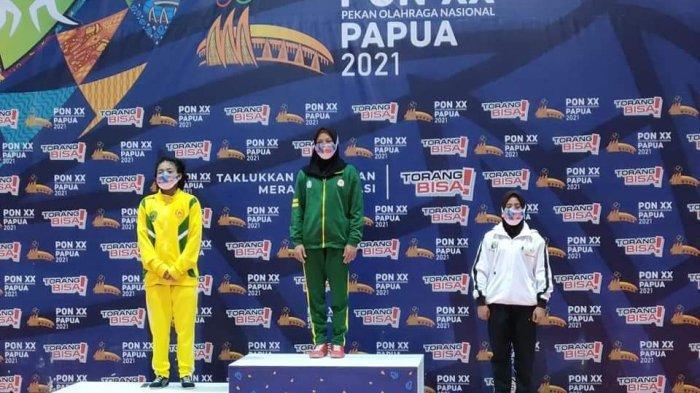 Walau Cedera Elvi Siska Suryani Tetap Sukses Sumbangkan Medali untuk Sumbar di PON Papua 2021