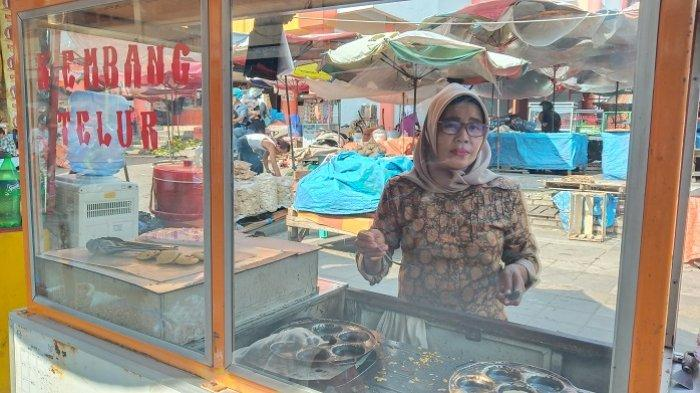 Ada Dorayaki Alias Kue Kembang Telur Dijual di Pasar Raya Padang, Harganya Cuma Rp 500