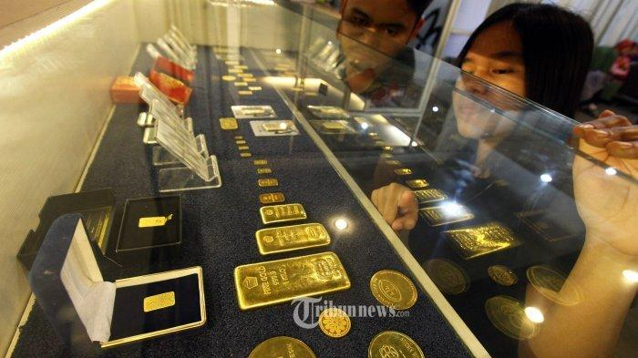 Harga Emas di Pegadaian Padang, Selasa 13 April 2021, Satu Gram Emas Antam Turun Rp 1.000