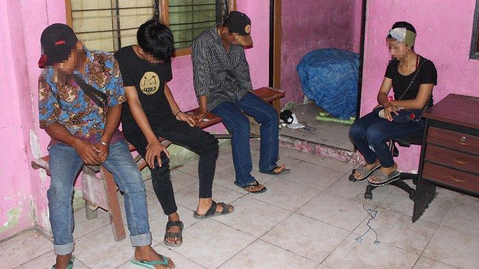 Diduga Mesum di Sebuah Rumah, Seorang Gadis dan 3 Remaja Pria di Padang Diamankan Warga
