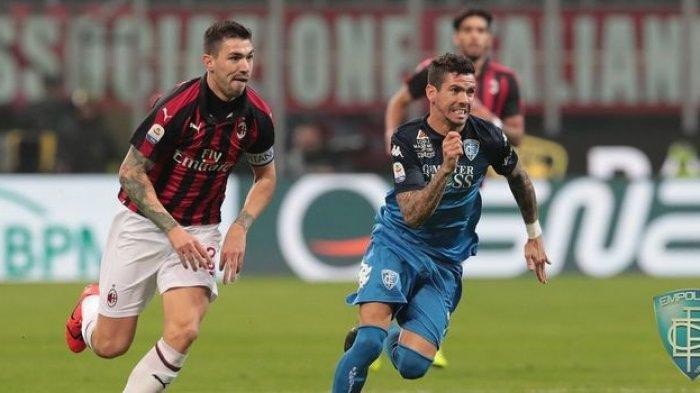 Kabar Baik Hampiri AC Milan Jelang Lawan Inter Milan, Sang KaptenAlessio Romagnoli Dinyatakan Pulih