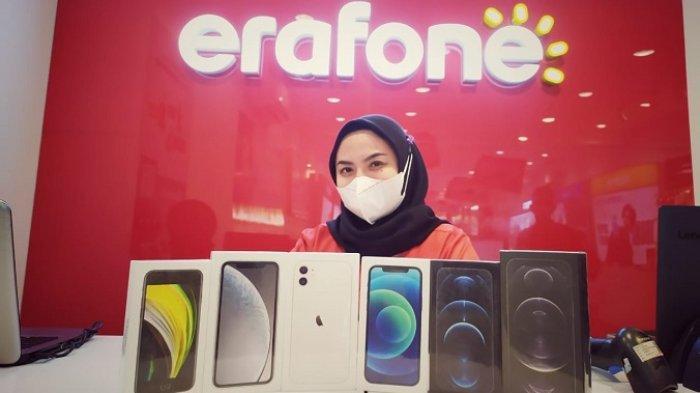 Banting Harga HP iPhone di Erafone Ruko Padang, Dapatkan Cashback hingga Rp 2,5 Juta