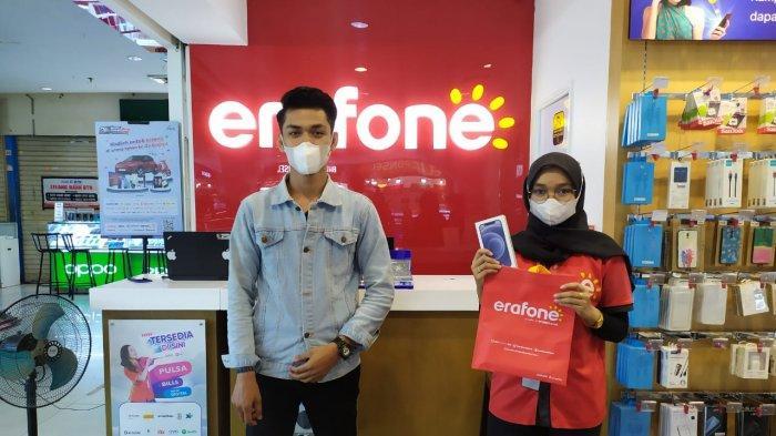 Rayakan Anniversary ke-25, Erafone Ruko Padang Sediakan Berbagai Hadiah dan Eraclub