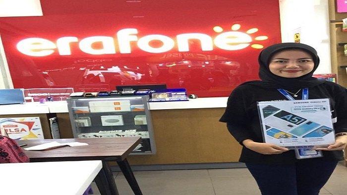 Pre Order Samsung Galaxy A51 di Store Erafone Plaza Andalas Kota Padang, Berhadiah Galaxy Fit e