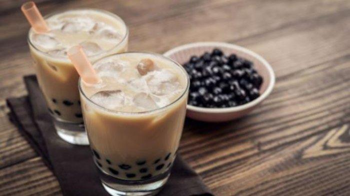 Tips Mudah Bikin Es Cappuccino Drink With Boba, Catat Resep Bisa Dibuat di Rumah
