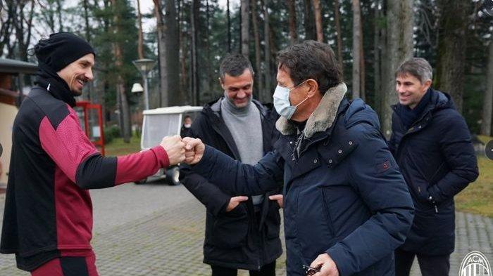 Fabio Capello Lihat Proses AC Milan Latihan dan Bertemu Stefano Pioli, Sudah Melakukan Semua