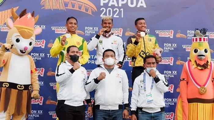 PON Papua 2021: Sumbar Tambah Perolehan Medali Emas dari Fauma Depril Juma Cabor Atletik