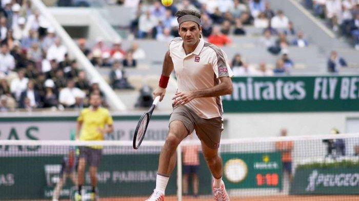 Roger Federer Tak Terbendung Melaju ke Perempat Final
