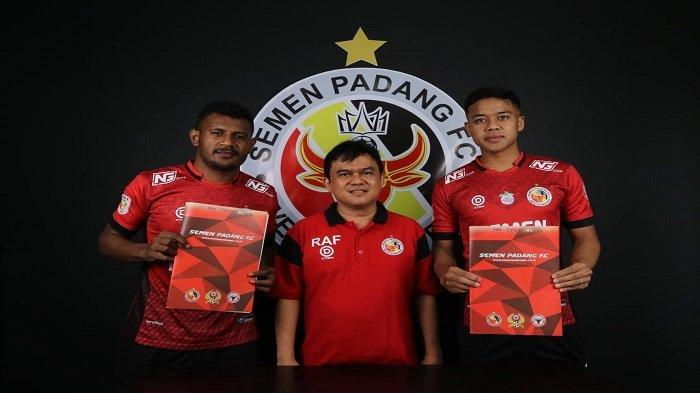 Semen Padang FC Datangkan 2 Pemain Anyar Berposisi Bek Tengah untuk Memperkuat Barisan Pertahanan