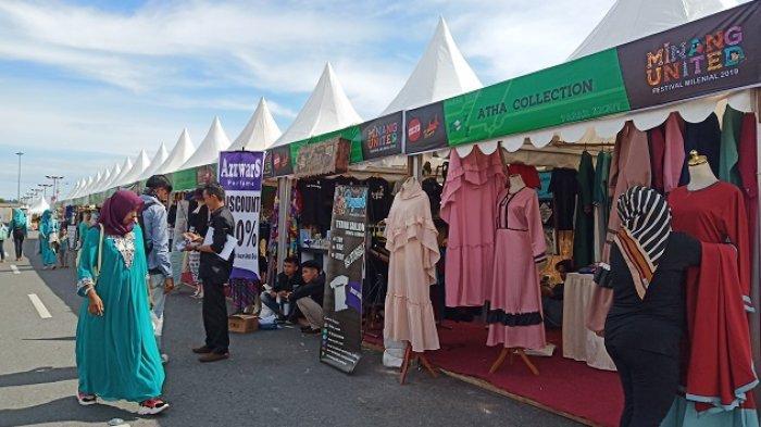 Pasar Kejut di Danau Cimpago Padang Hadirkan Berbagai Macam Dagangan, Ada Bali Art Store