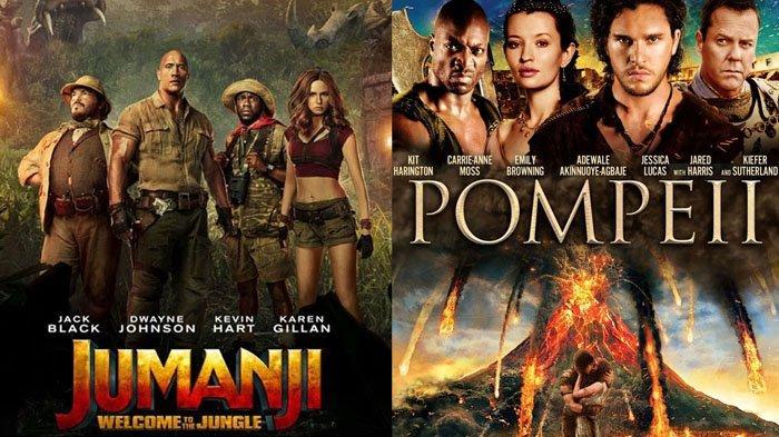 Jadwal Acara TV Senin 18 Mei 2020 Trans TV RCTI SCTV ANTV GTV Net TV, Ada Film Jumanji dan Pompeii