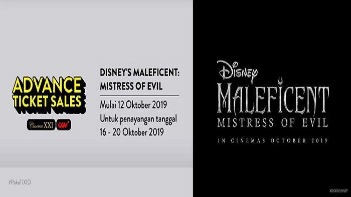 TIKET NONTON di Bioskop Film Maleficent: Mistress of Evil Jadwal Tayang 16-20 Oktober 2019 di Padang