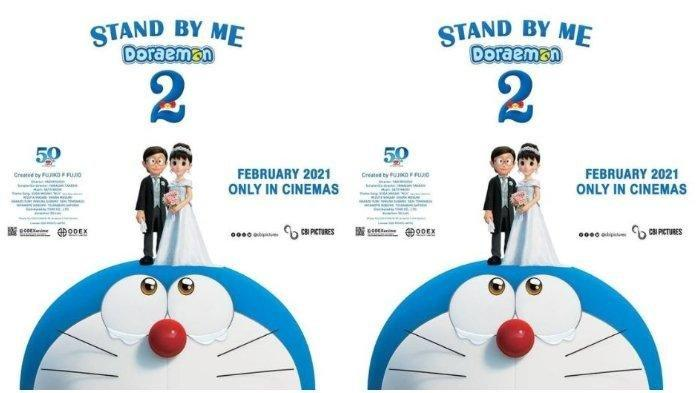 Jadwal Film Bioskop Kota Padang Selasa 9 Maret 2021, Masih Tayang Stand By Me Doraemon 2