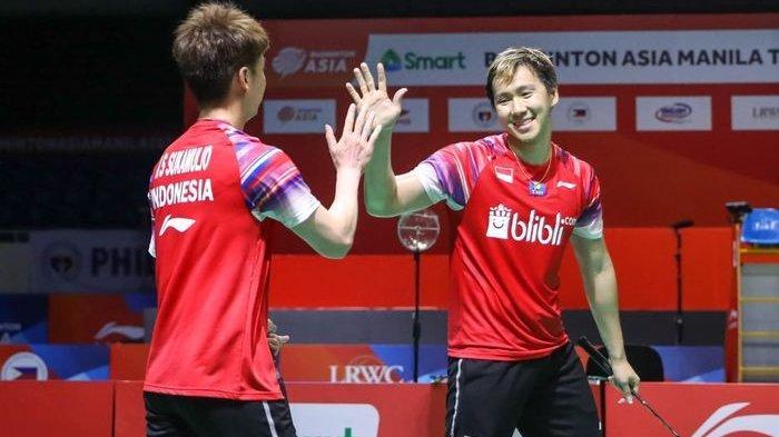 Dua Wakil Indonesia Tembus Semifinal, Berharap Marcus/Kevin dan Praveen/Melati Juara