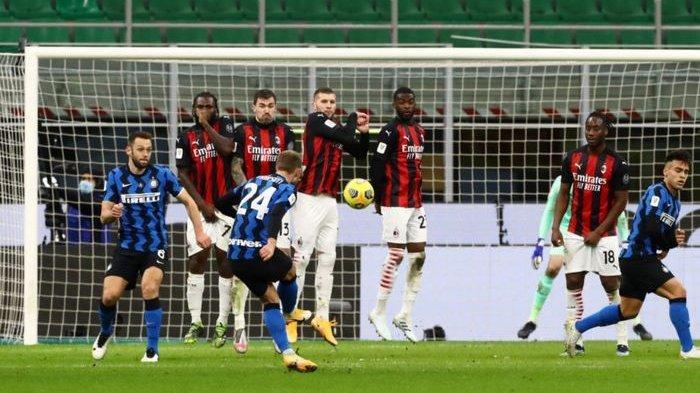 STARTING XI AC Milan vs Inter Milan: Stefano Pioli dan Antonio Conte Saling Perang Urat Syaraf