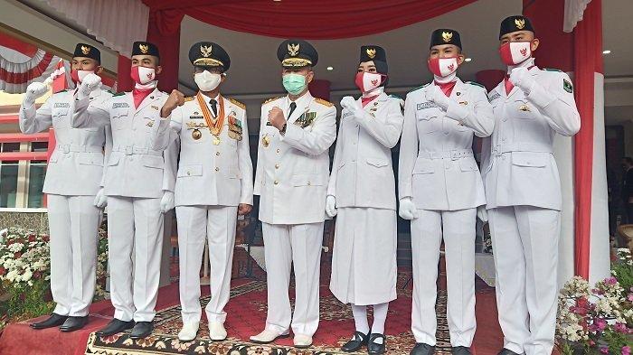 Masa Pandemi, Pengibar Bendera 17 Agustus di Sumbar Hanya Libatkan 3 Orang, Tak Turunkan Semangat
