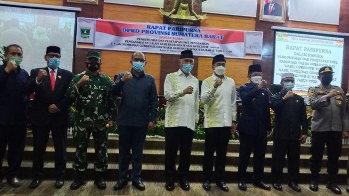 DPRD Sumbar Segera Usulkan Pengesahan Pengangkatan Gubernur Terpilih ke Mendagri