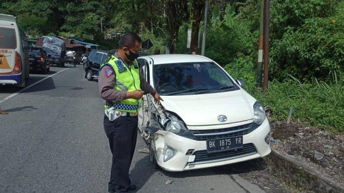 FOTO Tabrakan Beruntun di Lembah Anai Jorong Air Mancur, Truk Tronton hingga Minibus Penyok