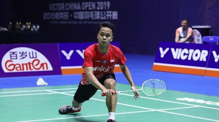 Pebulu Tangkis Anthony Ginting Cukup Puas, Meski Gagal Tembus ke Final