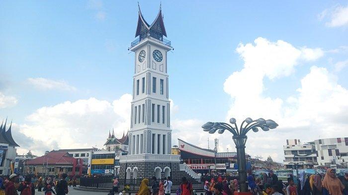 TRIBUNWIKI: Jam Gadang, Ngarai Sianok dan Panorama yang Instagramable di Bukittinggi dan Agam