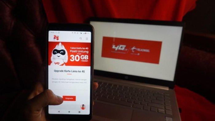 Ganti Kartu Lama Telkomsel dengan Usim 4G Dapat Bonus Kuota hingga 30 GB