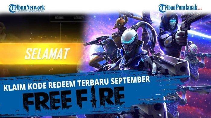 3 Kode Redeem Free Fire Hari Ini, Bisa Coba7859 2BCA SWAS hingga7859 2TTS U6WD, Pastikan 12 Digit