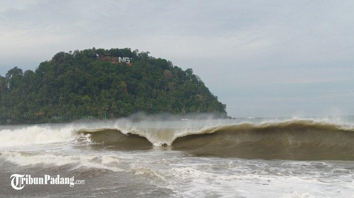 Info BMKG Maritim Teluk Bayur: Peringatan Gelombang Tinggi Perairan Sumbar 15-16 Agustus 2020