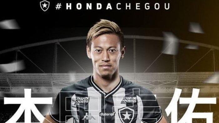 Pernah Main di AC Milan hingga Digosipkan akan Gabung Persija, Keisuke Honda Berlabuh di Klub Brasil