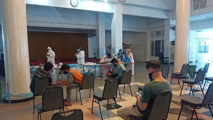 Puskesmas Seberang Padang Gelar Rapid Tes Antigen Massal: Targetkan Hingga  800 Warga