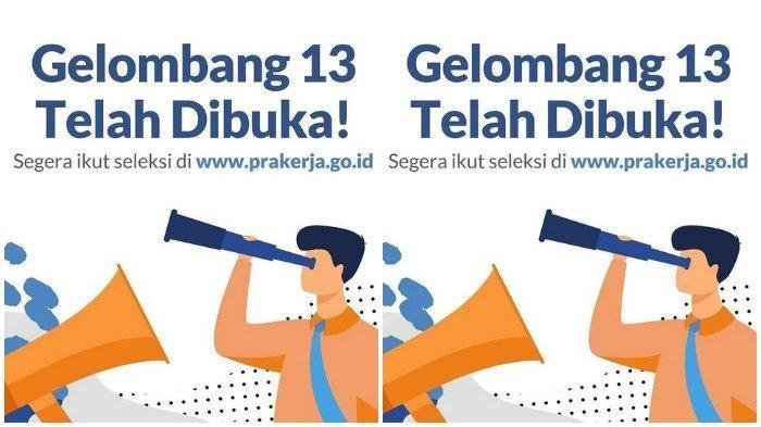 Begini Cara Cek Lolos Seleksi Kartu Prakerja Kunjungi Laman www.prakerja.go.id dan Pesan SMS