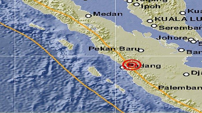 Gempa Bumi Berkekuatan 3.7 SR Guncang Sawahlunto, Getaran Dirasakan Hingga Solok dan Padang