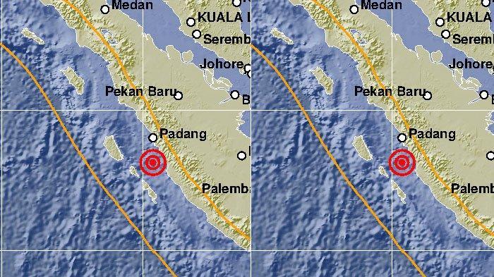 Bulan November Ini Sumbar Sudah Empat Kali Diguncang Gempa Akibat Adanya Zona Subduksi