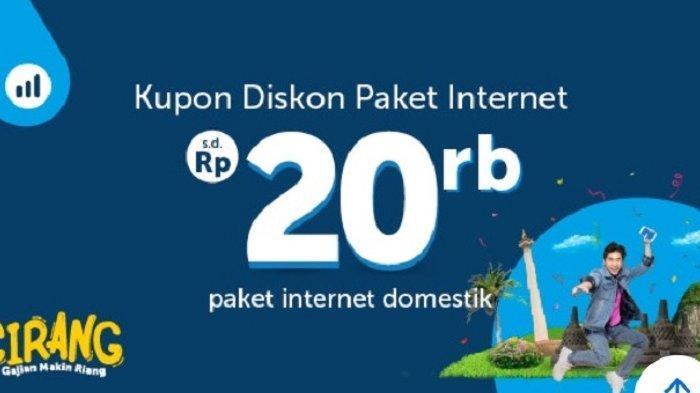 ADA PROMO Kupon Diskon Paket Internet Domestik Hingga Rp 20 Ribu dari Traveloka