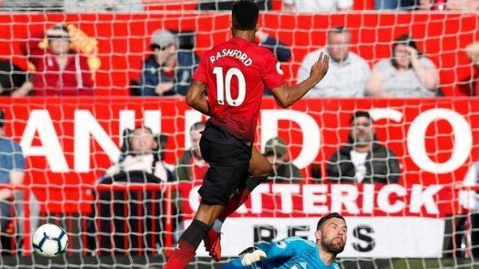 Marcus Rahsford Sejajar dengan 3 Legenda Manchester United, Bobol Gawang Timnas Belgia