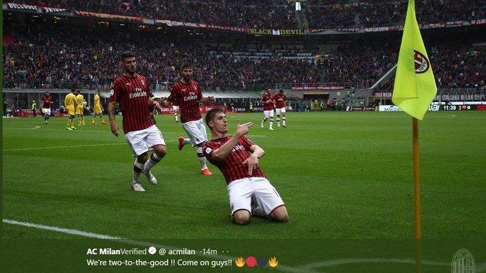 SIARAN LANGSUNG Live Streaming AC Milan Vs Udinese di Stadion San Siro