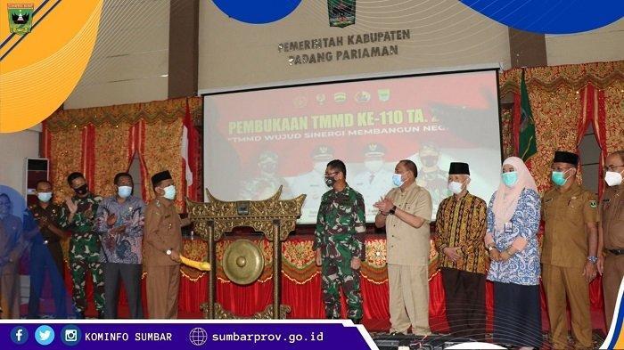TMMD ke-110 Padang Pariaman dan Kepulauan Mentawai Resmi Dibuka, Sinergi Membangun Negeri