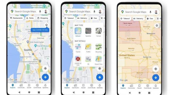 Google Maps Luncurkan Fitur Terbaru Covid Layer Membantu Pengguna Mengindari Hot Spot Covid-19