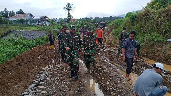 TMMD Ke-108, Jalan Dambaan Warga Jorong Pincuran Tinggi Tanah Datar Terwujud
