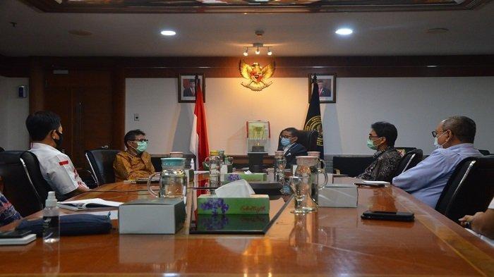 Gubernur Sumbar Irwan Prayitno Temui Sandiaga Uno di Jakarta Bahas Pelaksanaan TdS 2021