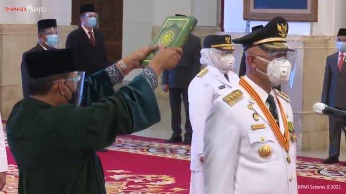 SAH . . . Mahyeldi-Audy Resmi Menjadi Gubernur dan Wakil Gubernur Sumbar