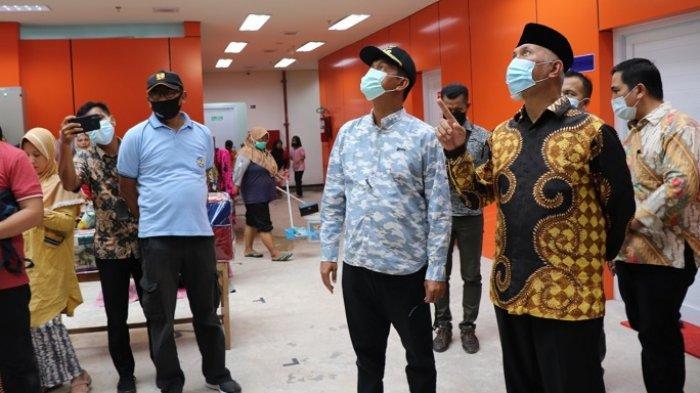 Kegiatan Wapres Ma'ruf Amin di Pariaman, Tinjau Pelaksanaan Vaksinasi hingga Resmikan Pasar