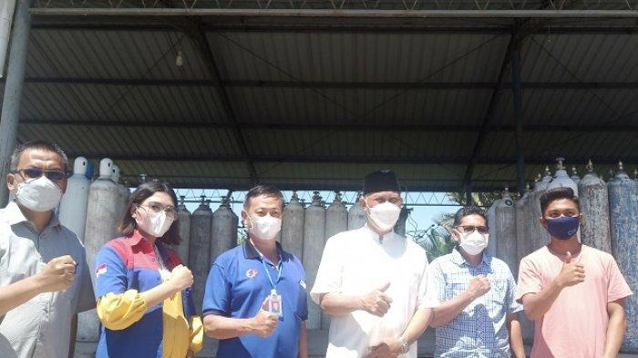Sumbar Dapat Bantuan 30 Ton Oksigen Cair untuk Pasien Covid-19 dari PT Indah Kiat Riau